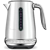 Breville The Smart Kettle Luxe BKE845BSS 1.7 Litre Kettle, Brushed Stainless Steel, BKE845BSS2JAN1