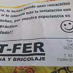 PASADOR SEGURO CORREDERA/PERSIANA (BLANCO): Amazon.es: Bricolaje y ...