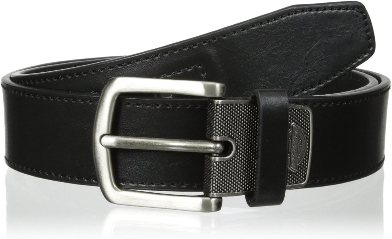Dickies Men/'s 38mm Industrial Strength Work Belt Black