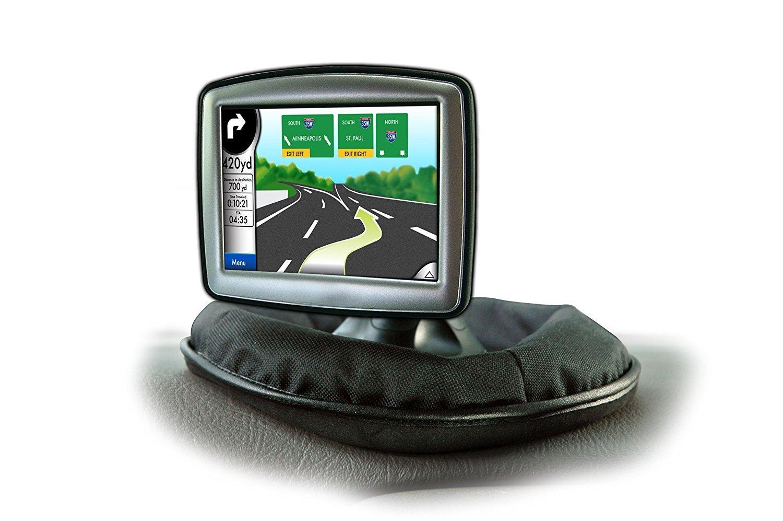 Tomtom Deco Gear GPS Dashboard Mount for Garmin Weighted Dash Mount DGGPSDM01 Magellan and Other Portable GPS Navigators