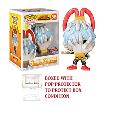 My Hero Academia POP! Animation Tomura Shigaraki Special Edition Exclusive Vinyl Figure (Bundled with .5mm pop Protector case): Home & Kitchen