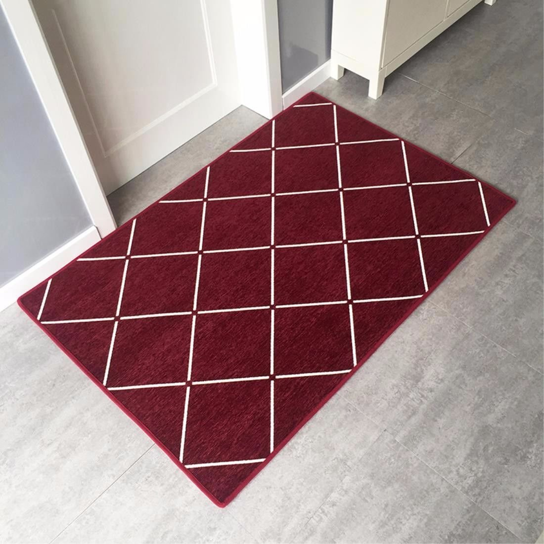 LIUXINDA-DT Modern household carpet, doorway carpet, antiskid carpet, living room carpet, corridor carpet,60 X 90CM(23.6 X 35.4'')
