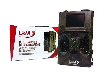 Telecamera Nascosta Da Esterno : Telecamera infrarossi fototrappola lkm security gprs gsm mms