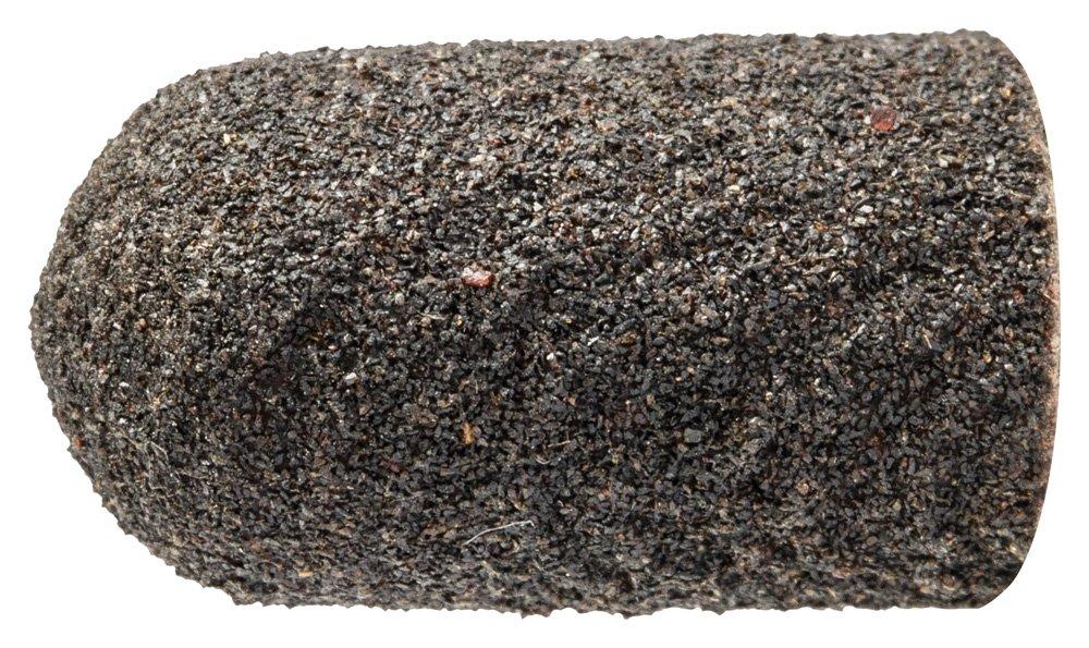PFERD 46042 Policap Abrasive Cap, Shape C, Aluminum Oxide A, 9/32'' Diameter x 1/2'' Length, 150 Grit (Pack of 50)