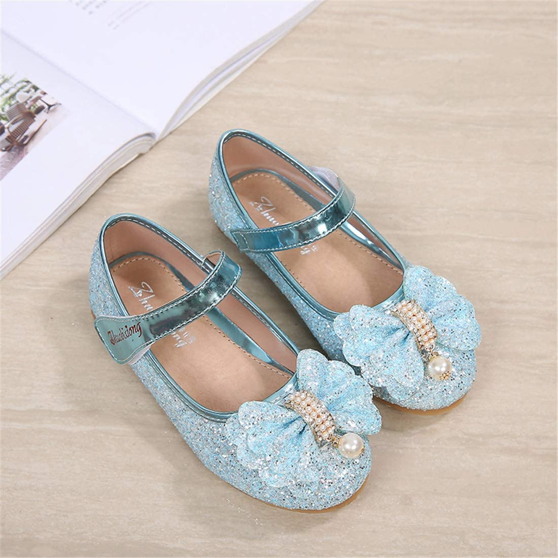 Birthday Party Little Girls Adorable Sparkle Mary Jane Princess Dress Shoes
