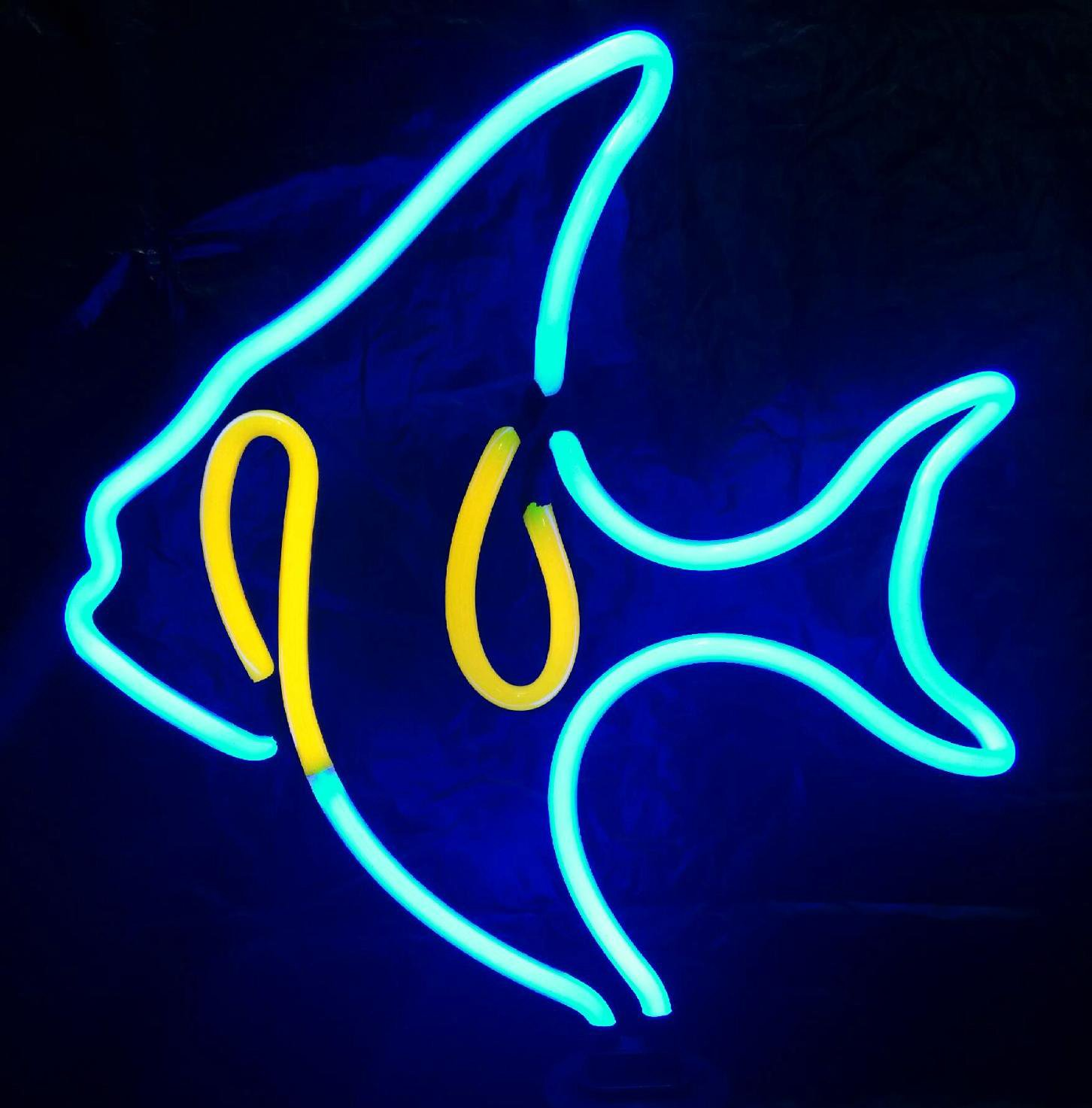 Neon Fish Light