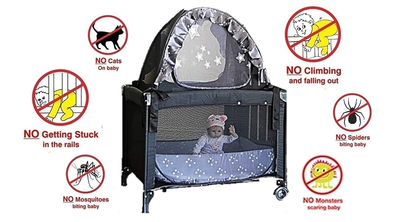 Amazon.com: Popup Crib Tent and Travel Tent Bundle - Keep ...