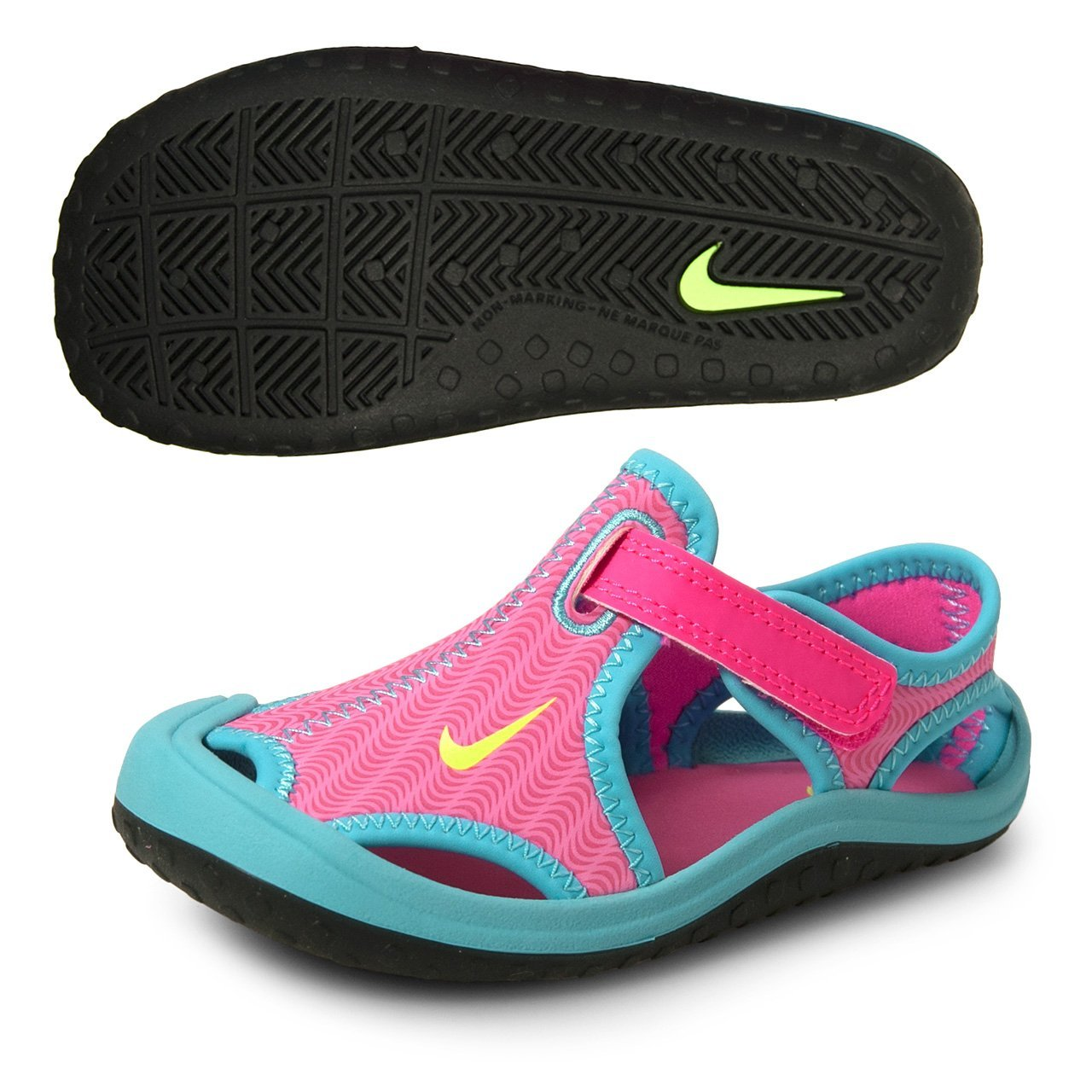 a1782612a09f Galleon - Nike Sunray Protect (TD) Infant Toddler Girls  Sandal  344993-612  (5c)