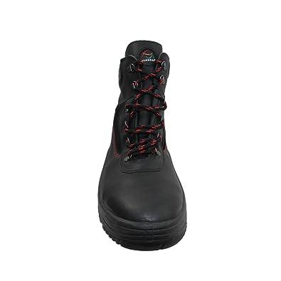 Samurai - Calzado de protección de Piel para hombre Negro negro 4ZyL0