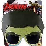 Sunstaches Officially Licensed Avengers Hulk Sunglasses
