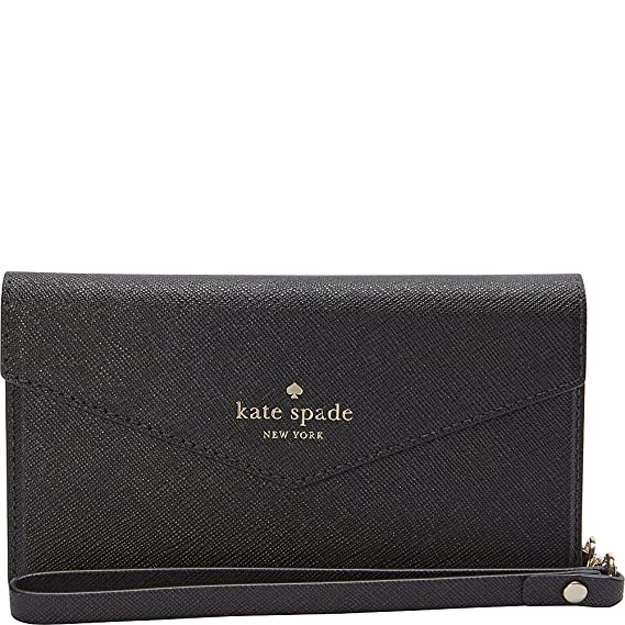 hot sale online c88a0 1df24 Amazon.com: Kate Spade New York Envelope Wristlet for iPhone 7 / 8 ...