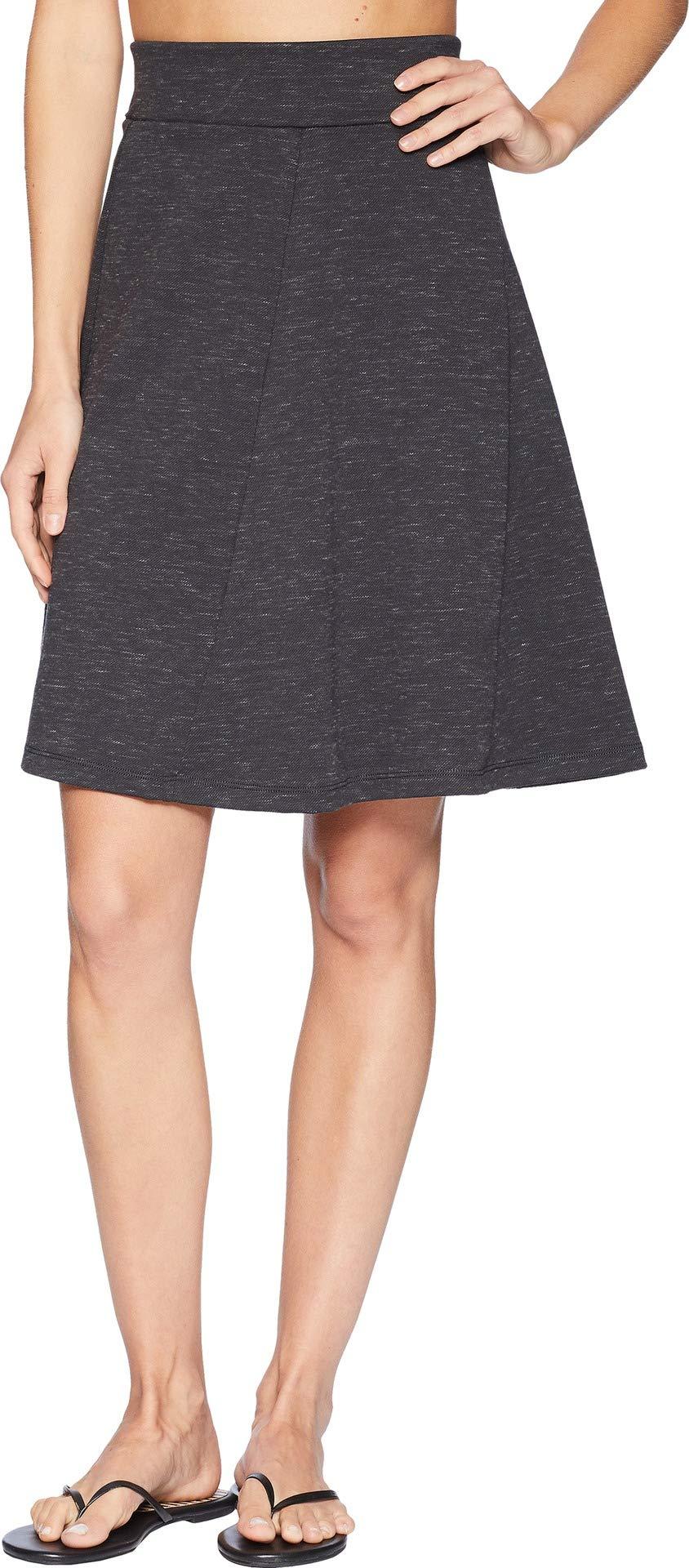Royal Robbins Women's Geneva Ponte Skirt, Large, Charcoal Heather by Royal Robbins