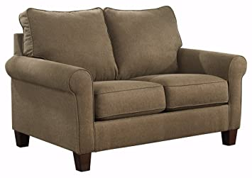 Ashley Furniture Signature Design Zeth Sleeper Sofa Twin Size Easy Lift Mechanism Contemporary Living Basil