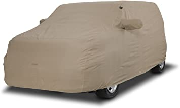 Tan Covercraft C78001RB Ready-Fit Deluxe 380 Series Long Car Cover
