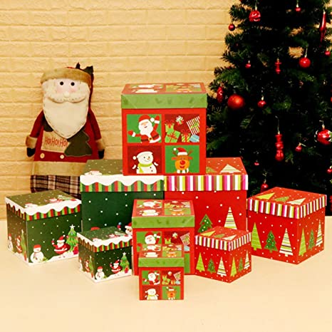 La caja de regalo de Navidad, caja de regalo, caja de regalo, decoración
