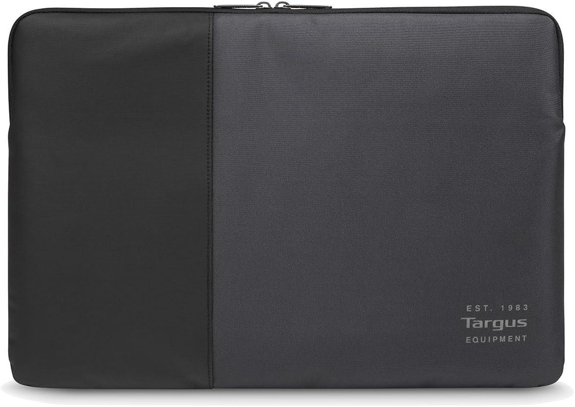 Targus Pulse Laptop Sleeve, 13-14 Black/Ebony. Universal, TSS94804EU (Black/Ebony. Universal PU/Poly)