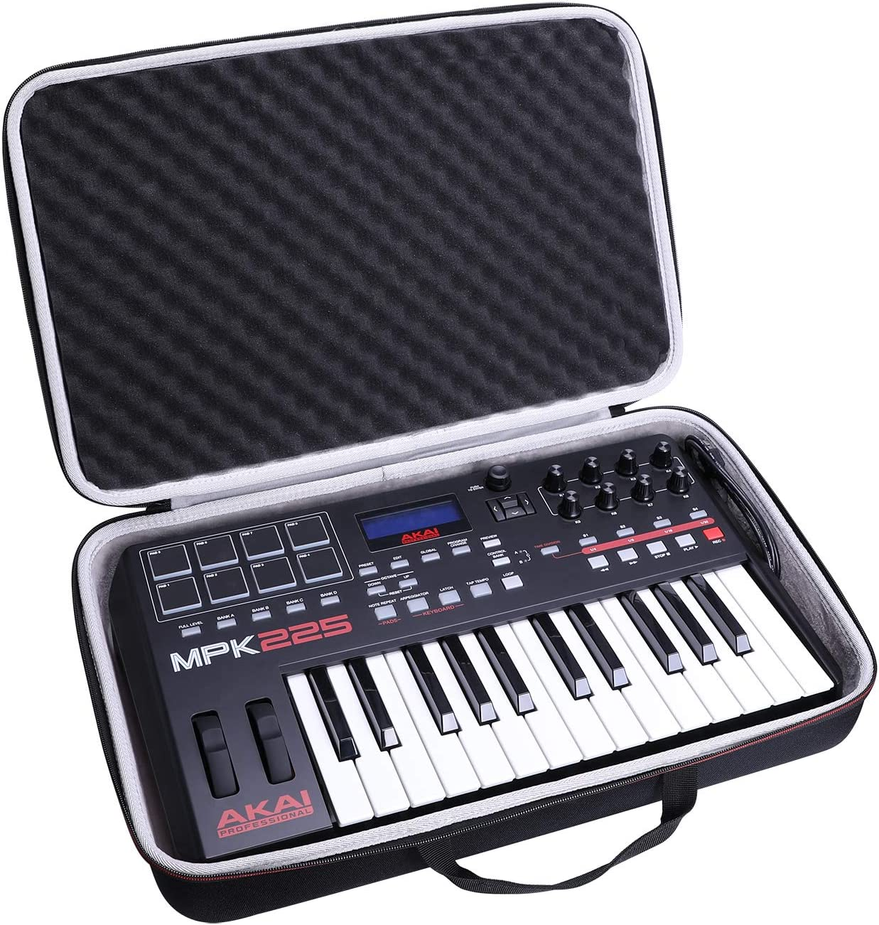 Special price LTGEM Hard Case for Akai MPK225 safety Compact 25-Key Professional Se