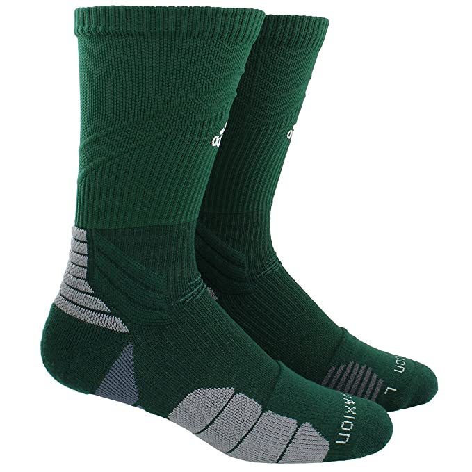 Adidas Traxion Menace Football/Basketball Crew Socks