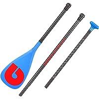 AKUALA 3PCS Adjustable Carbon SUP Paddle