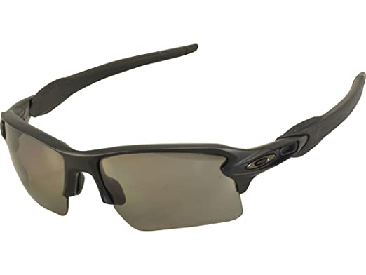 51c5abecd5 Amazon.com  Oakley Flak 2.0 XL Frame  Matte Black Lens  Prizm Grey ...