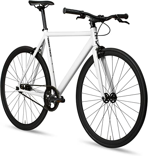 6KU Aluminum Fixed Gear Single-Speed Fixie Urban Track Bike