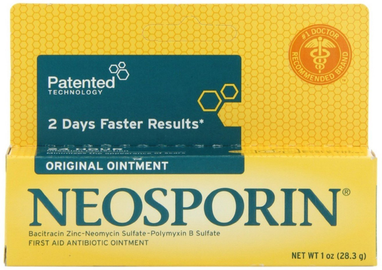 Neosporin Original First Aid Antibiotic Ointment 1 oz (Pack of 9) by Neosporin (Image #1)