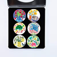 Cloth Weights Pattern Weights Dressmaking Sewing Weights. Designed by Artist Tracey English. Ideal Gift. 40mm Diameter…