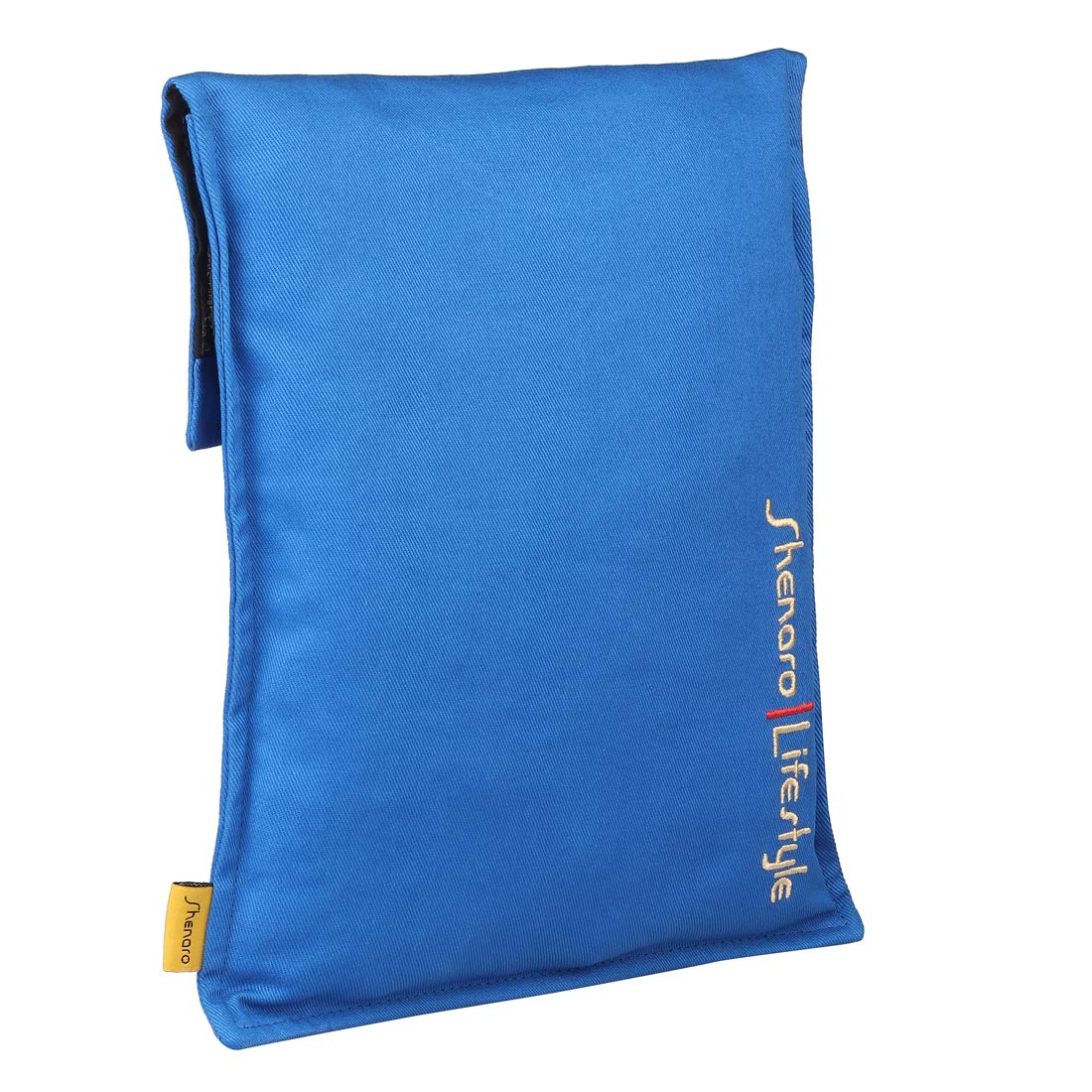 Cotton Organic and Eco-Friendly Pain Relief Wheat Bag with Treated Whole Grains and Lavender Shenaro Lifestyles Royal Blue