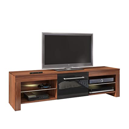 Amazon.com: Furniture.Agency Flex High Gloss TV Stand Led ...