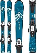 Salomon QST Max Jr Kids Skis w/C5 GW Bindings