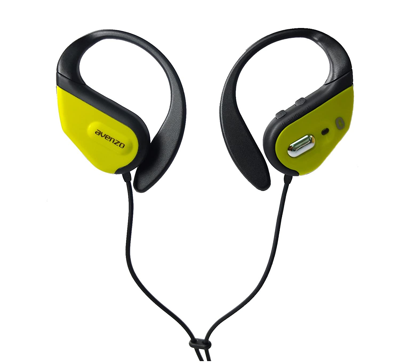 Avenzo AV603NG - Auriculares deportivos con Bluetooth, color negro: Amazon.es: Electrónica
