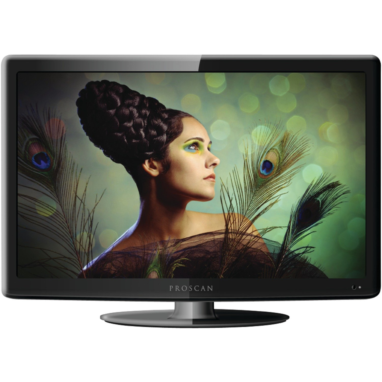 PROSCAN PLEDV1945A-B 19-Inch 720p 60Hz LED TV-DVD Combo Freedom From Cable Bundle by PROSCAN
