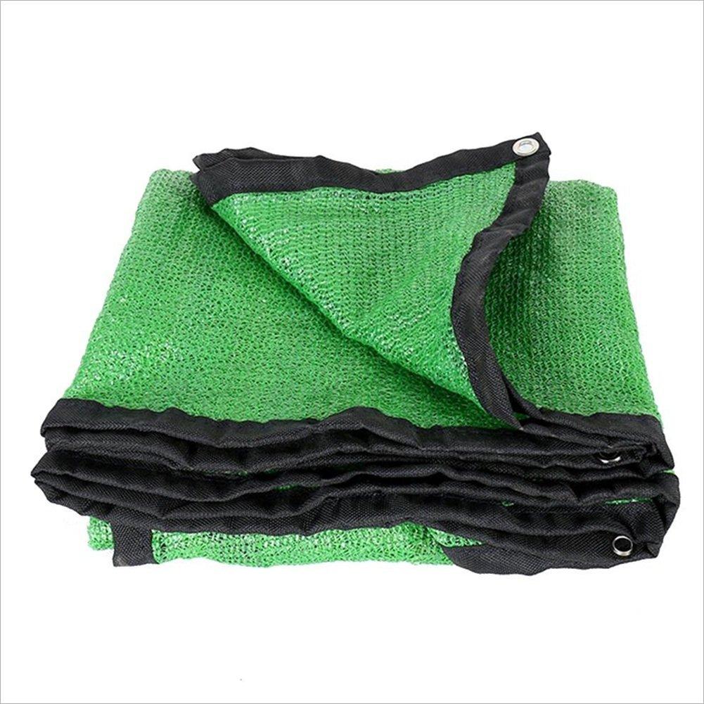 6 x 7m Qing MEI Parasol De Jardinage Net Prougeection Solaire Balcon Pare-Soleil Isolation De Voiture Bord Anti-poussière Une Variété De Tailles Matériau  Polyéthylène A+ (Taille   4 x 6m)