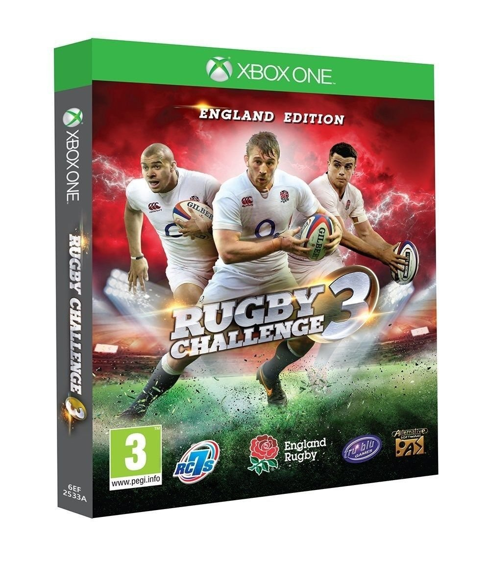 Rugby Challenge 3: England Edition [Xbox One]