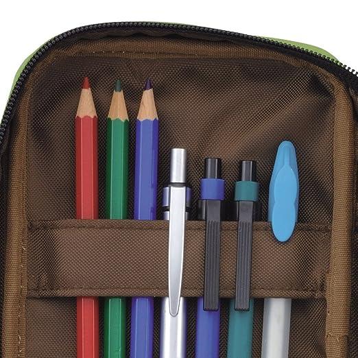Bolígrafo con cremallera doble LIHIT LAB, naranja, Standard ...