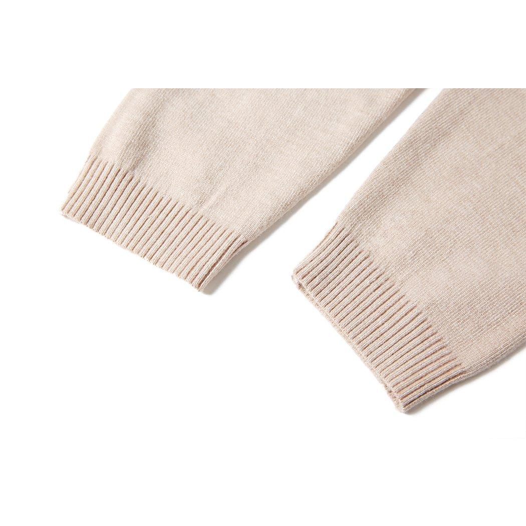 d94437814b MOCOTONO Mens V-Neck Long Sleeve Pullover Casual Sweater