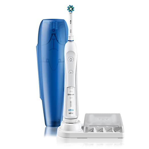 Oral-B Pro 5000 SmartSeries Power Rechargeable Electric Toothbrush ,with Bluetooth Connectivity Powered by Braun