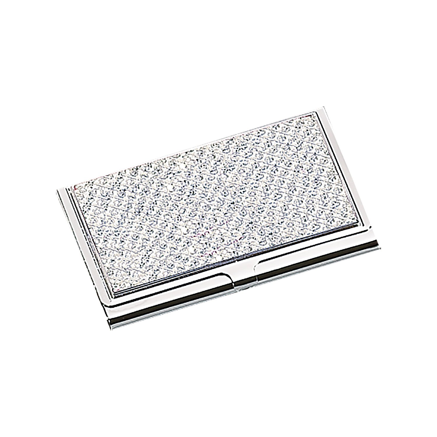 Amazon elegance silver white glitter business card holder amazon elegance silver white glitter business card holder home kitchen magicingreecefo Gallery