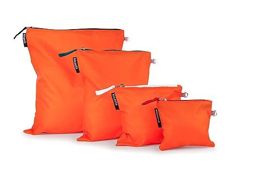 22 opinioni per kiezels- organizer per valigia o zaino- 4 diverse misure- arancione