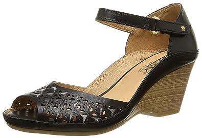 e5aed87f8088a PIKOLINOS Womens Carpi Wedge W8F-0743 Sandals, Black, 36 M EU / 5.5