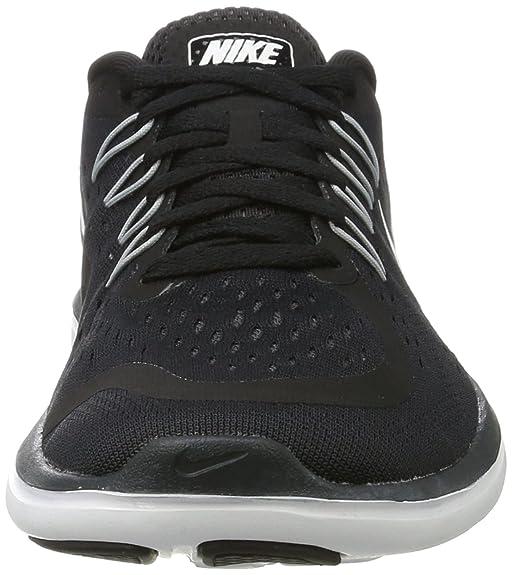 Nike Damen Flex 2017 RN Traillaufschuhe, Schwarz (Black/White/Anthracite/Wolf Grey 001), 36 EU