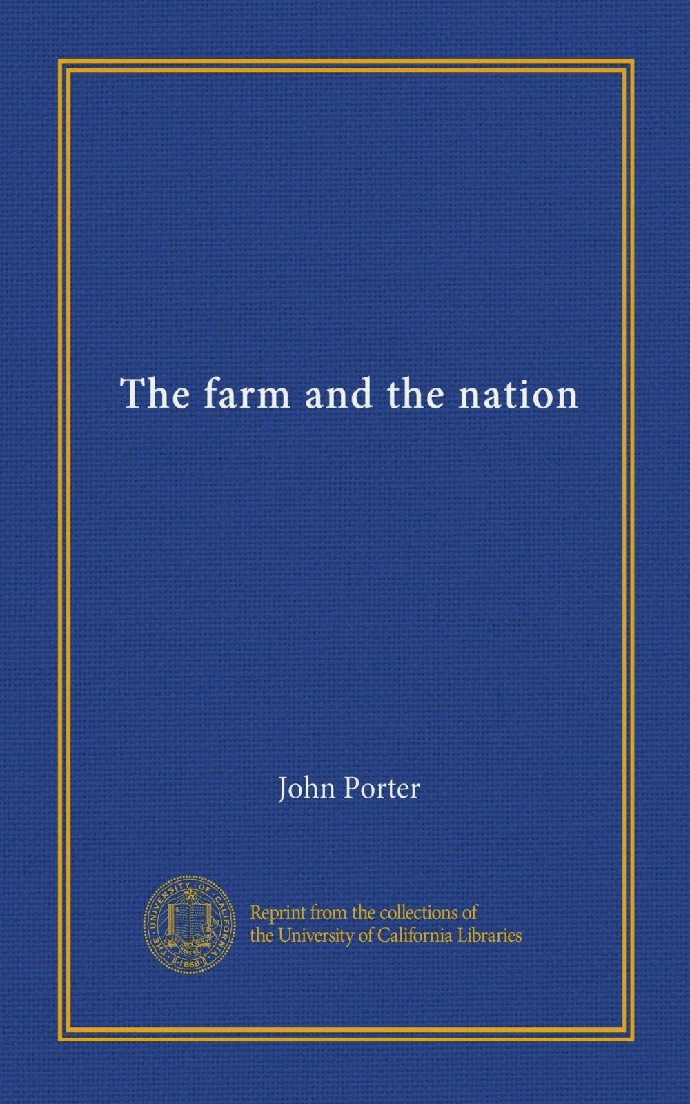 The farm and the nation pdf epub