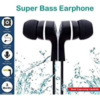 VOLTAC Super HD Bass Stereo Ear Earphone/Headphone with Mic for All Mobile Phones Model 427507