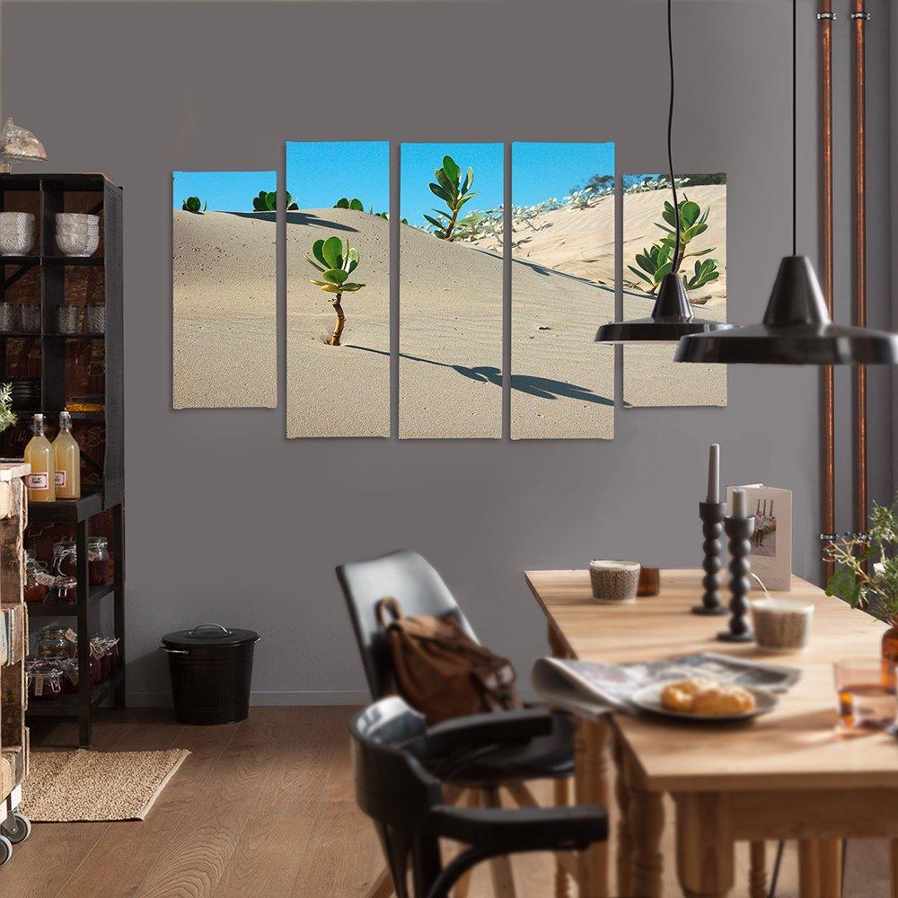 feeby Frames, Bild-Wand, Rahmen Gemälde – 5 Platten – Kunst Wandbild ...