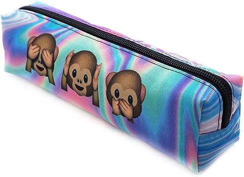 Ferocity Estuches plumier la Tuba Multicolor Holo Monkeys [008]: Amazon.es: Juguetes y juegos
