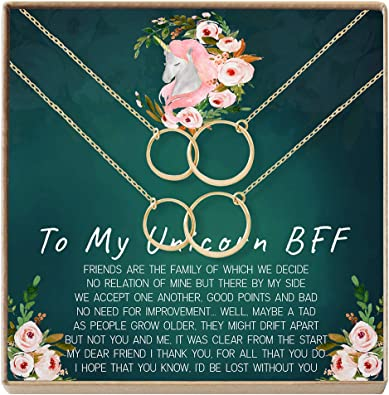 More Heartfelt Card /& Jewelry Gift for Birthday Holiday Best Friend Necklace