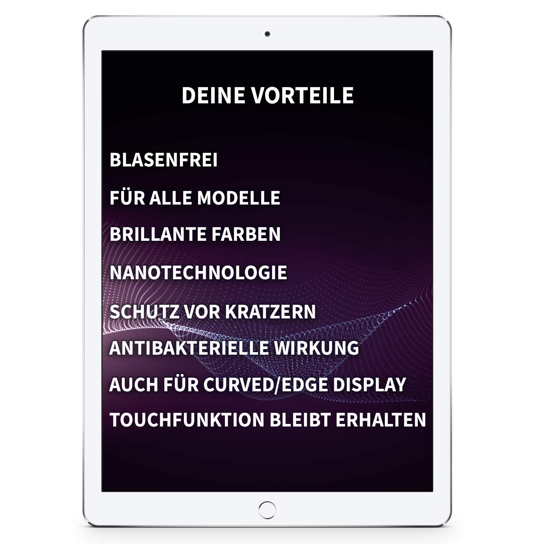 ProtectPax Tablet Flüssiger Displayschutz aus die Höhle der Löwen - 1er Set - für alle Apple Ipad Samsung Tablets Nano Versiegelung Schutzfolie Panzerglas…