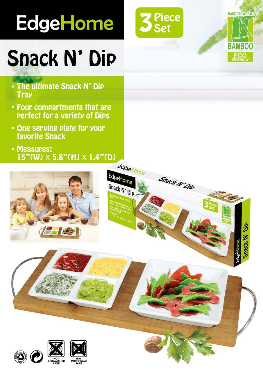 EdgeHome Snack and Dip Set by Edge home (Image #1)