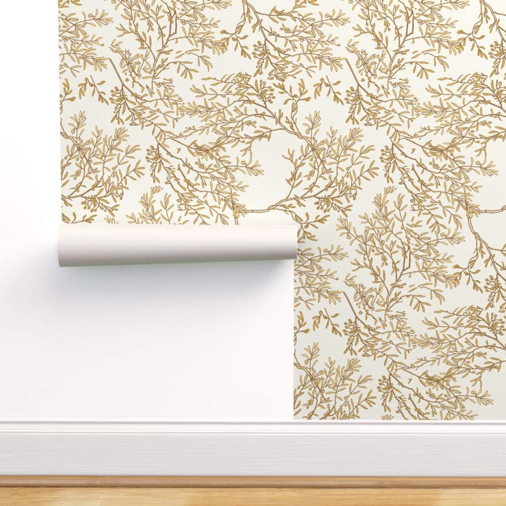 Spoonflower Peel And Stick Removable Wallpaper Toile Chinoiserie Flowers Chinoiserie Gold Branches Gold Leaves Toile Gold Toile Print Self Adhesive Wallpaper 24in X 108in Roll Amazon Com,Rose Beautiful Flower Images Hd