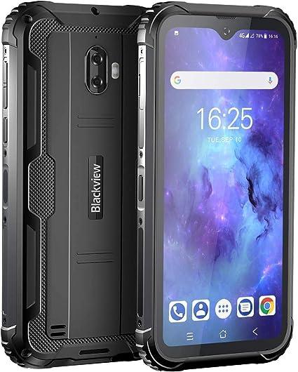 Movil Resistente, Blackview BV5900 Telefono Movil Antigolpes, 5.7 Pulgadas HD+ Display, 4G Android 9.0, Batería 5580mAh, 3GB RAM+32GB ROM, IP68 Impermeable Smartphone ...